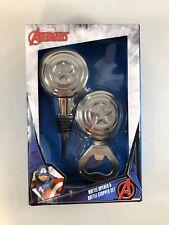 Avengers Beer Bottle Opener Wine Bottle Stopper Bar Set Marvel Captain America