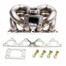 REV9 HP SERIES HONDA B16 B18 VTEC EQUAL LENGTH RAM HORN TURBO MANIFOLD T3/T4 T3