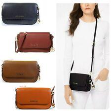 Michael Kors Bedford Legacy Pebbled leather Large Flap Crossbody Bag