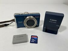 Canon PowerShot PowerShot SX200 IS 12.1MP Digital Camera - Blue