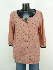 Maison Scotch Camicia Taglia S/Marrone Con Pattern & come nuovo (L 0992)