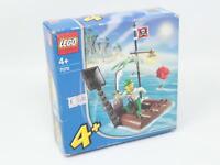 LEGO COSTRUZIONI 7070 PIRATA CATAPULTA ZATTERA FONDO MAGAZZINO [Q09-038]