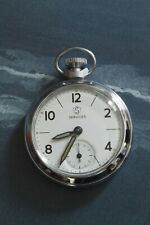 1970 Smiths Pocket Watch with Services 10-12-2-8-4 dial