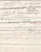 The Northern Rubber Company Retford 1895 Sole Agents Goods Paid Invoice Rf 40815