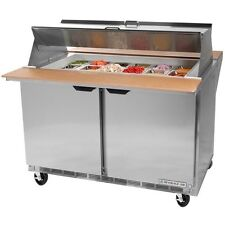 Beverage Air Spe60-24M, 60-Inch Refrigerated Sandwich and Salad Prep Table, Ul,
