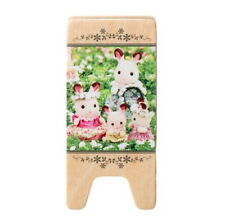 Sylvanian Families GREEN MEMO CLIP WOOD HOLDER STAND Epoch Japan Calico Critters