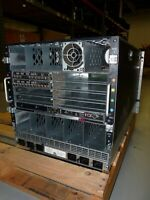 HP BladeSystem c7000 Enclosure w/2*4Gb FC PT Module & 1*Power Supply Chassis