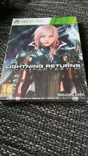 Final Fantasy 13 XIII lightning Returns Collector neuf Steel Book Rare xbox 360