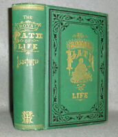 Antique Decorative Book Royal Path of Life Virtue Ethics Marriage Family 1882