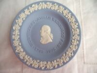 WEDGWOOD BLUE WHITE JASPER WARE JASPERWARE TRINKET PIN TRAY DISH BOWL WEDGEWOOD