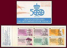 ESPAGNE Carnet N°2478** Découverte de l´Amérique, 1986 Spain booklet MNH