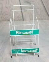 Vintage Mint A Burst Gum Advertising Display Rack Counter Top