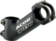 "Acor Riser 31.8mm Handlebar Stem MTB Bicycle Mountain Bike 50mm x 1.1/8"" Black"