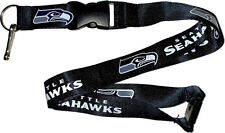 Seattle Seahawks Break Away Lanyard with Double Sided Logo/Graphics