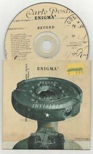 enigma - beyond the invisible cardsleeve cd single