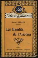 COLLECTION FAMILIA - G. AIMARD LES BANDITS DE L'ARIZONA