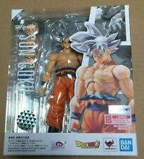 AUTHENTIC Bandai S.H. Figuarts Ultra Instinct Son Goku Dragon Ball Super Figure