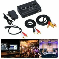 Karaoke Sound Mixer Professional Audio System Machine Portable Mini Digital GN