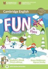 FUN FOR FLYERS STUDENT'S BOOK WITH AUDIO WITH ONLINE ACTIVITIES 3RD EDITION...