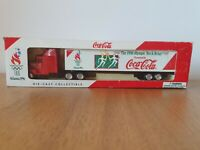 LLEDO DIE CAST COCA COLA TRUCK THE OLYMPIC TORCH RELAY ATLANTA 1996 BOXED RARE