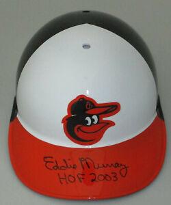 "Orioles EDDIE MURRAY Signed Full Size Baseball Helmet w/ ""HOF 2003 '"" AUTO - JSA"