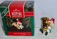 Hallmark Keepsake Christmas Ornament 1992 HARK! IT'S HERALD Series #4   H5