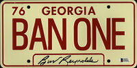Burt Reynolds Signed Smokey and the Bandit License Plate - Ban One Beckett BAS 2
