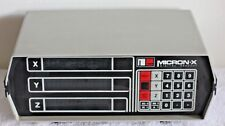 Micron-X Digital Readout DRO 3 Axis Part no A95-0117 W/Power cable