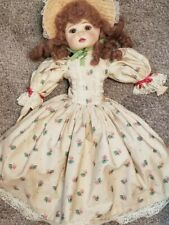 "27"" Beautiful cloth girl child doll all handmade exquisite Mint Ooak"