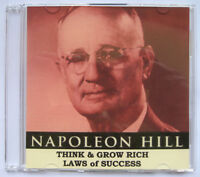 Napoleon Hill Think and Grow Rich Laws of Success 16 Lessons eBooks on Data Disc