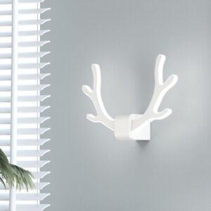 8W LED Wall Sconces Fixture Light Bedside Decoration Store Shop Showroom Antler
