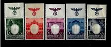 Germany Third Reich Stamps General Gov. Mi 105-109 with SWASTIKA MNH