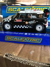 Scalextric MINI COUNTRYMAN WRC Negro/Blanco no 12 ref C3385