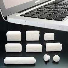 9Pcs Silicone Dustproof Plug Data Port Cover Stopper Cap For Macbook Pro Laptop