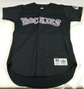 Colorado Rockies Russell VTG Diamond Collection Jersey Mens Size 44 Todd Helton