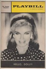 "Ginger Rogers  ""Hello, Dolly!""   Playbill  1966  Broadway"
