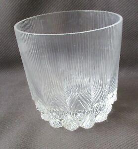 Rosenthal Whiskyglas Tumbler Pfauendekor Höhe ca. 9 cm. top