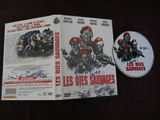 Les oies sauvages de Andrew V. Mclaglen avec Richard Burton, DVD, Guerre
