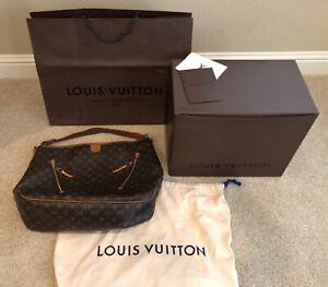 LOUIS VUITTON❤️Delightful GM❤️Monogram❤️Includes Box, Receipt, Bag & Dust Cover