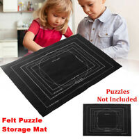 Puzzle Large Mat Roll Up Puzzle Felt Storage For Up To 3000 Pieces Game 39x55 in