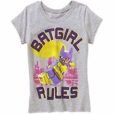 Girls Lego Batgirl Rules Graphic Shirt New with Tags Size 7/8 Spring/Summer!!