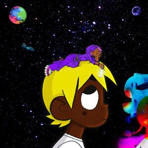 "Lil Uzi Vert ""LUV vs. The World 2"" Art Music Album Poster HD Print Wall Decor"