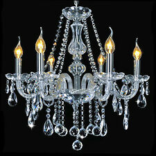 Marie Therese Clear Cristallo 6-Arms Lampada a Sospensione Lampadario