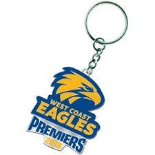 AFL Footy West Coast Eagles 2018 Premiers Logo Keyring