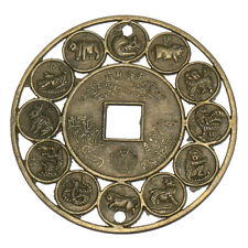 Lucky Chinese Zodiac Feng Shui Auspicious Coins For Luck Prosperity Protection