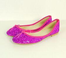 OVYE BY CHRISTINA LUCCHI Ballerinas Flats Leder Pink Glitzer Gr. EUR 40 (SR47)