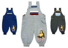 Pantalones y pantalones cortos peto azul para niños de 0 a 24 meses