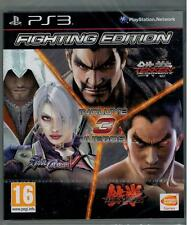 Fighting Edition - Soul Calibur V - Tekken Tag Torunament - Tekken 6 (PS3 Nuevo)