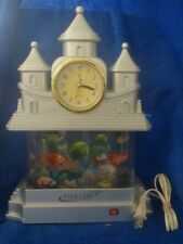 """FISH LAMP Castle with Clock 14"""""""