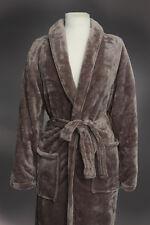 *NEW* PLUSH MEN'S Spa Bath Robe SOFT 2 Large pockets & waist tie SMALL/MEDIUM